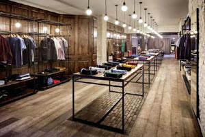 Giá kệ shop quần áo