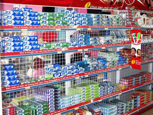 Kệ sắt để hàng siêu thị