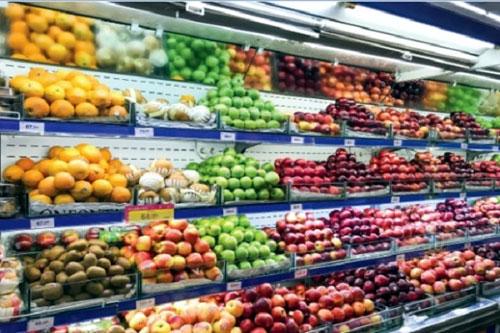 Kệ trưng bày trái cây- MS13